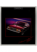 1984 Chevrolet Citation II