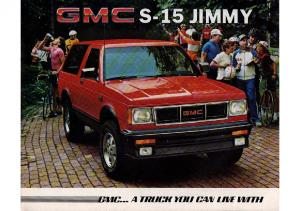 1985 GMC S-15 Jimmy