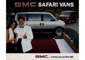 1985 GMC Safari