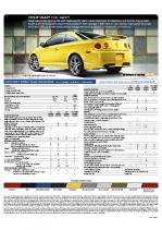 2009 Chevrolet Cobalt Specs