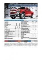2009 Chevrolet Colorado Specs