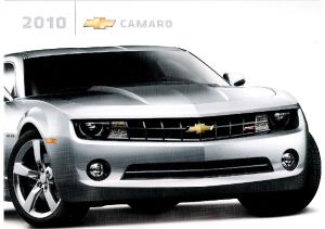 2010 Chevrolet Camaro Intro