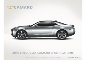2010 Chevrolet Camaro Specs