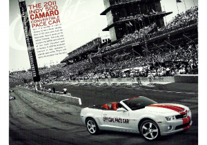 2011 Chevrolet Camaro – Indy 500 Pace Car