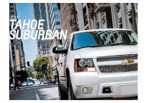 2013 Chevrolet Tahoe-Suburban