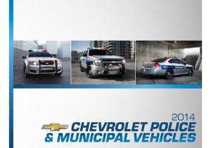 2014 Chevrolet Police