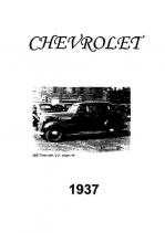 1937 Chevrolet Specs