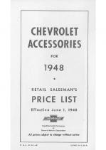 1948 Chevrolet Accessories