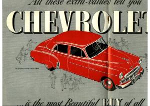 1949 Chevrolet Foldout