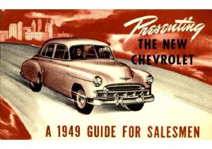 1949 Chevrolet Guide For Salesmen