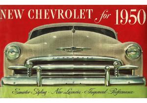 1950 Chevrolet Foldout