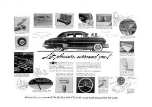 1952 Chevrolet Accessories Price List