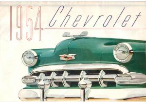 1954 Chevrolet Foldout
