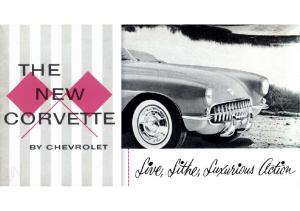 1956 Chevrolet Corvette Folder