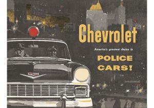 1956 Chevrolet Police Cars