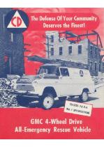 1957 GMC Emergency Vehicle