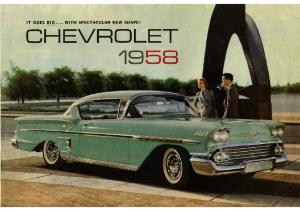 1958 Chevrolet Foldout