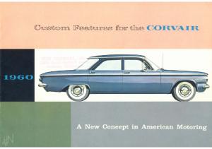 1960 Chevrolet Corvair Custom Features