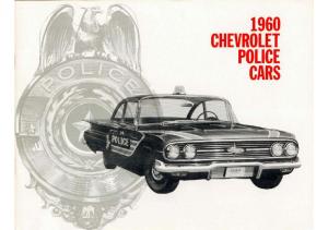 1960 Chevrolet Police