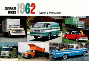 1962 Chevrolet Trucks
