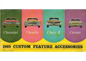 1965 Chevrolet Accessories Folder