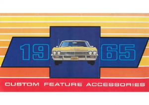 1965 Chevrolet Accessories
