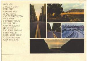 1966 Chevrolet Mailer