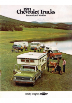 1971 Chevrolet Recreation Vehicles