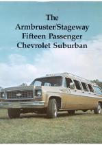 1973 Chevrolet Suburban Limo