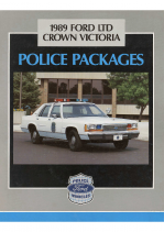 1989 Ford Police Package