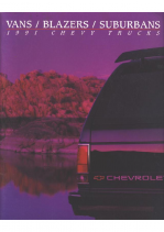 1991 Chevrolet Vans-Blazers-Suburbans