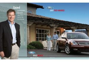 2007 Ford 500 – Dealer