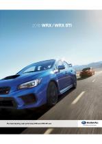 2018 Subaru WRX-WRX STI
