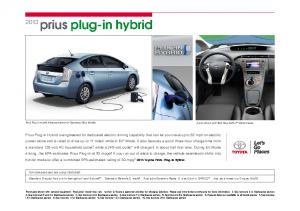 2013 Toyota Prius Plugin