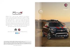 2016 Fiat 500x Accessories