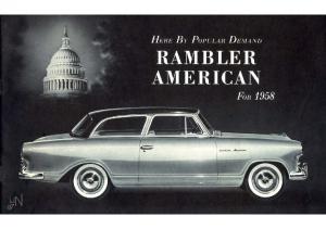 1958 AMC Rambler American