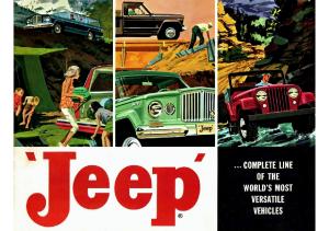 1962 Jeep Full Line