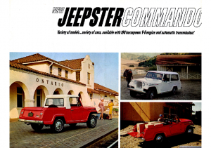 1966 Jeep Jeepster Commando V1