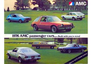 1976 AMC Passenger Cars Auto Show Edition