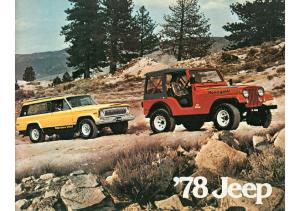 1978 Jeep Full Line V1