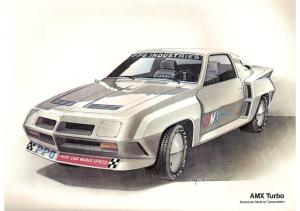 1981 AMC AMX Turbo