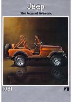 1981 Jeep Full Line