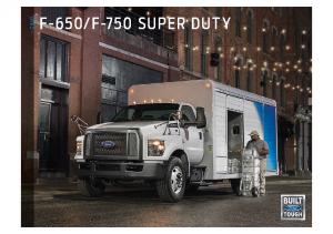 2018 Ford F650-F750