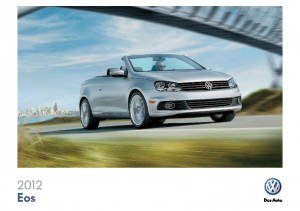 2012 VW EOS