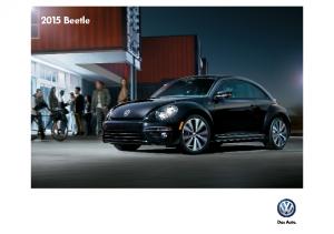 2015 VW Beetle