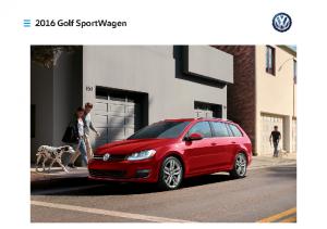 2016 VW Golf SportWagen