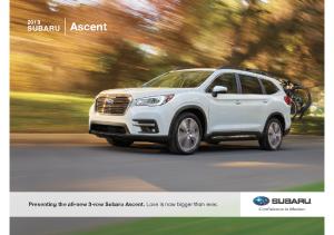 2019 Subaru Ascent V1