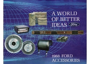 1968 Ford Accessories