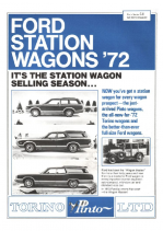 1972 Ford Wagon Facts