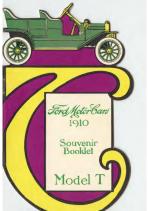 1910 Ford Souvenir Booklet V2